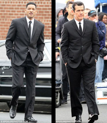 Men in Black 3 Set pics