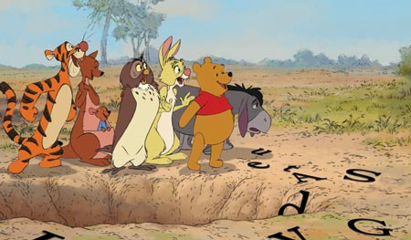 Winnie the Pooh photo stills
