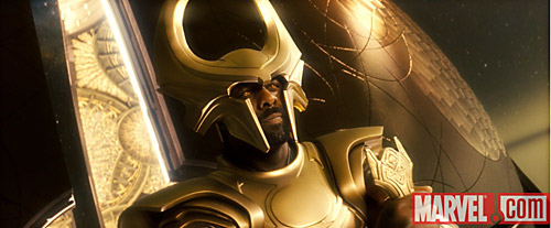 Idris Elba as Heimdall in Mervel's Thor