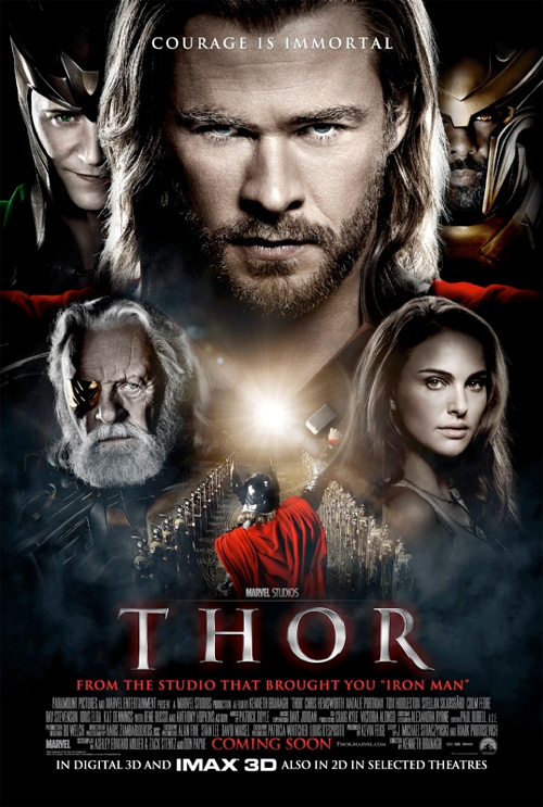 Thor International one sheet movie posters