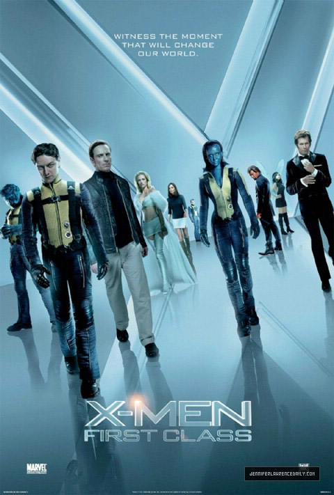 New X-Men: First Class poster