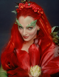 Uma Thurman as Dr. Pamela Isley - Poison Ivy