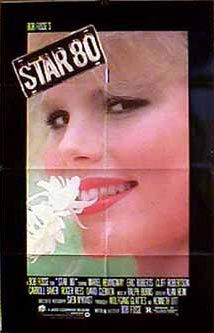 Movie poster for Star 80 starring Mariel Hemingway.