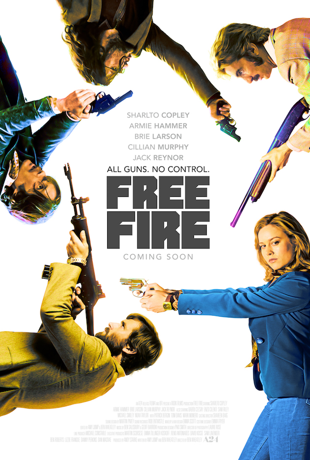 Free Fire - Red Band Trailer
