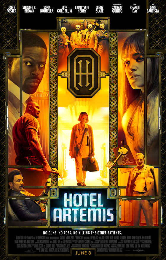 Hotel Artemis - Movie Trailer