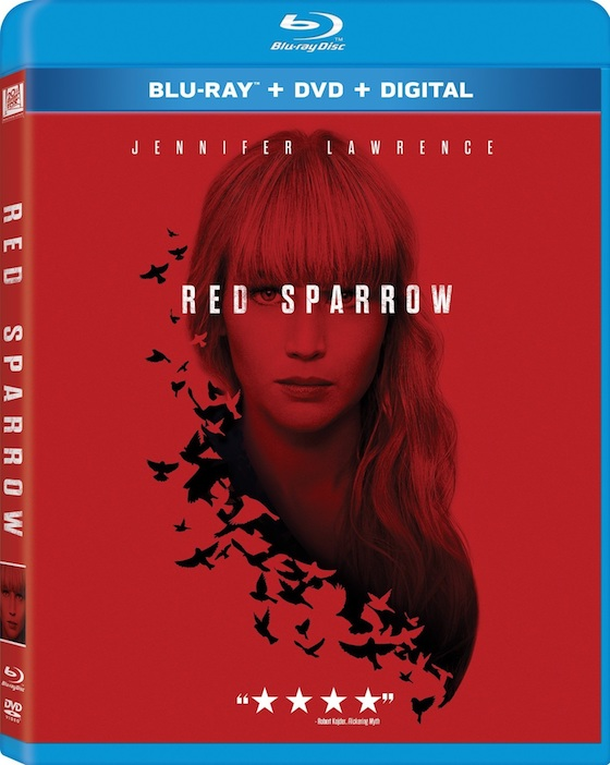 Red Sparrow - Blu-ray Review