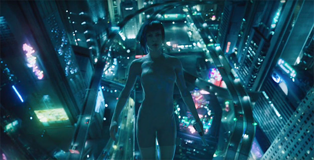 Ghost In The Shell 2017 Movie Review