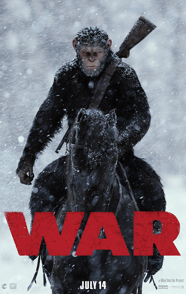 War for the Pplanet of the Apes - Movie TRailer