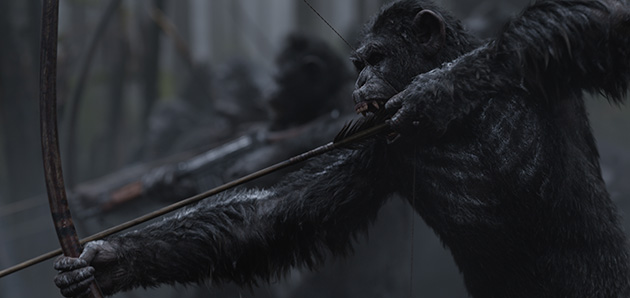 War for the Planet of the Apes - Movie Trailer and poster art