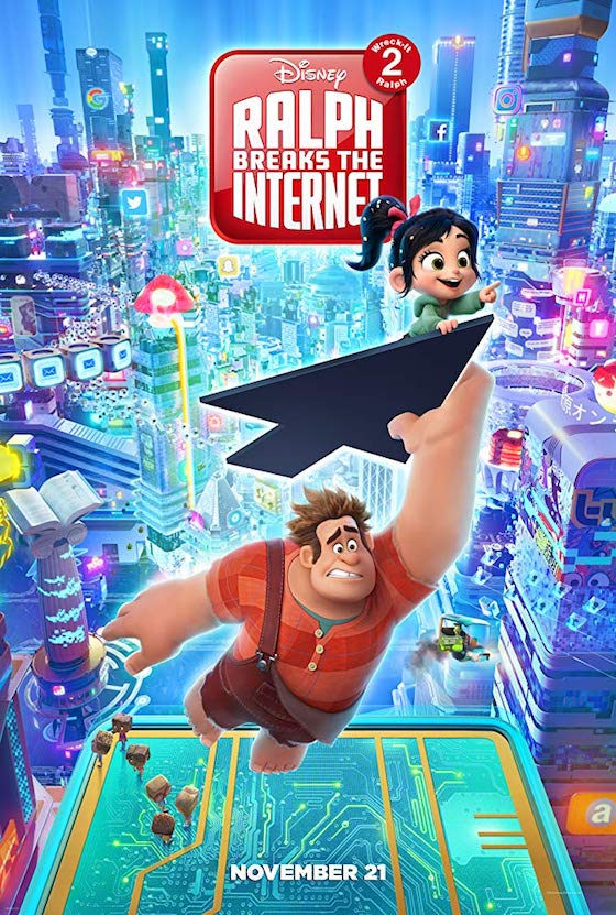 Ralph Breaks the Internet: Wreck-It Ralph 2 - Movie Trailer