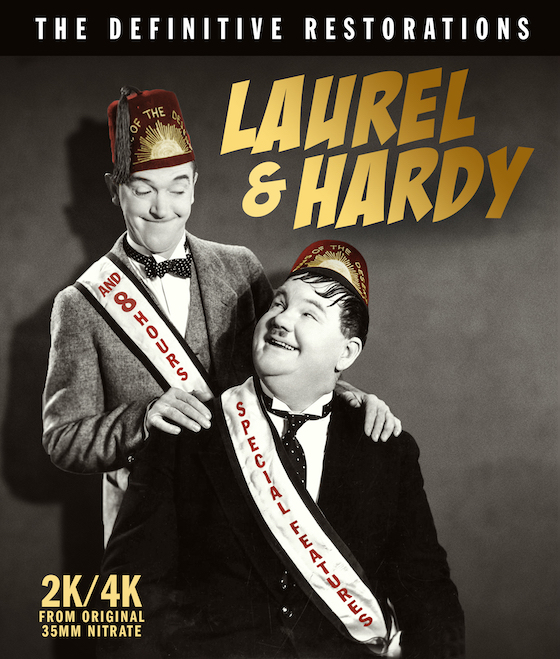 Laurel & Hardy - The Definitive Restorations