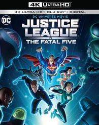 Jusice League vs The Fatal Five